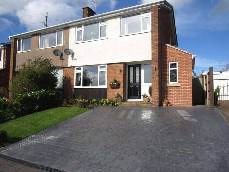 3 Bedrooms Semi Detached House for sale in Lindholme Way, Sutton In Ashfield, Nottinghamshire, NG17