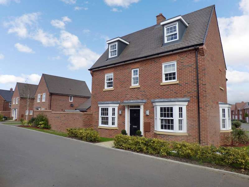 4 Bedrooms Semi Detached House for sale in Brooke Piece, Marston Moretaine, Bedfordshire, MK43 0YS