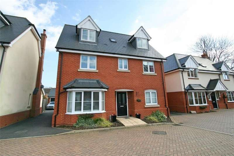 5 Bedrooms Detached House for sale in Bokhara Close, Tiptree, COLCHESTER, Essex