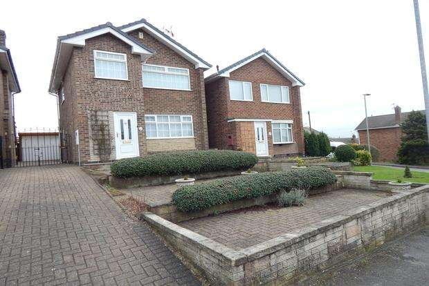3 Bedrooms Detached House for sale in Grasmere Close, Hucknall, Nottingham, NG15