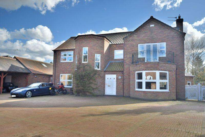 6 Bedrooms Detached House for sale in Poachers Lane, Sudbrooke, Lincoln