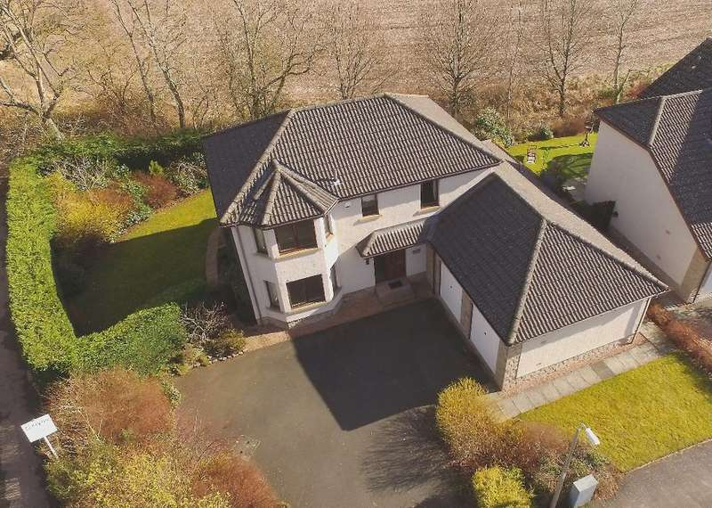 5 Bedrooms Detached House for sale in 82 Inchbrakie Drive, Crieff, Perthshire , PH7 3SQ