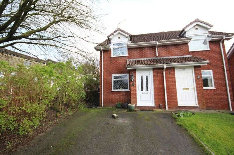 2 Bedrooms Semi Detached House for sale in LEASIDE CLOSE, Shawclough Rochdale OL12 6PD