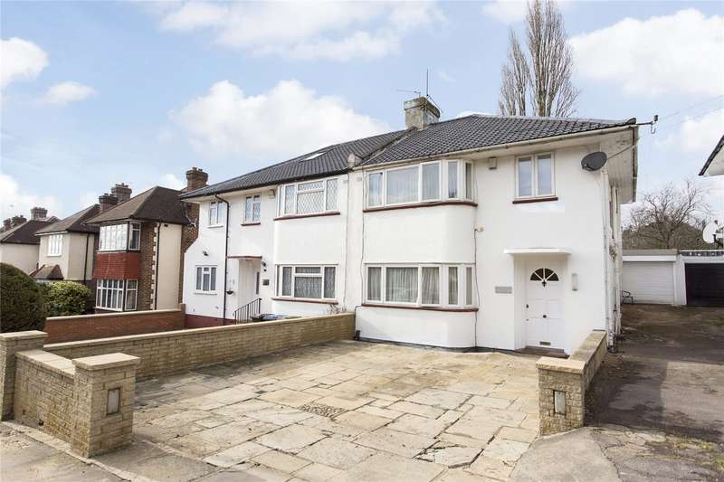 3 Bedrooms Semi Detached House for sale in Arnos Grove, Southgate, N14