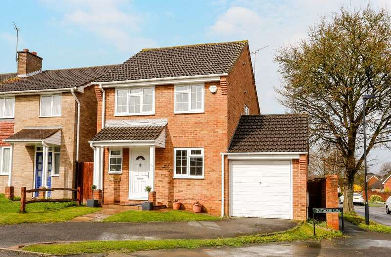 3 Bedrooms Detached House for sale in Chatsworth Close, nr Wootton Way, Maidenhead, Berkshire