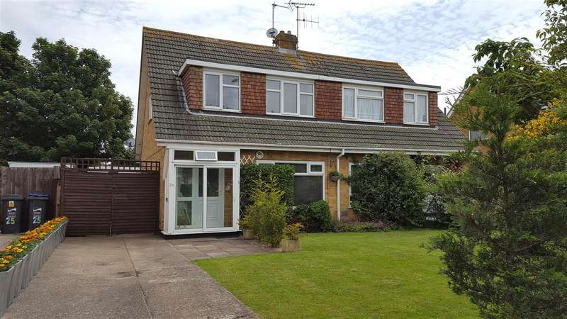 3 Bedrooms Semi Detached House for sale in Fairfield Road, Broadstairs