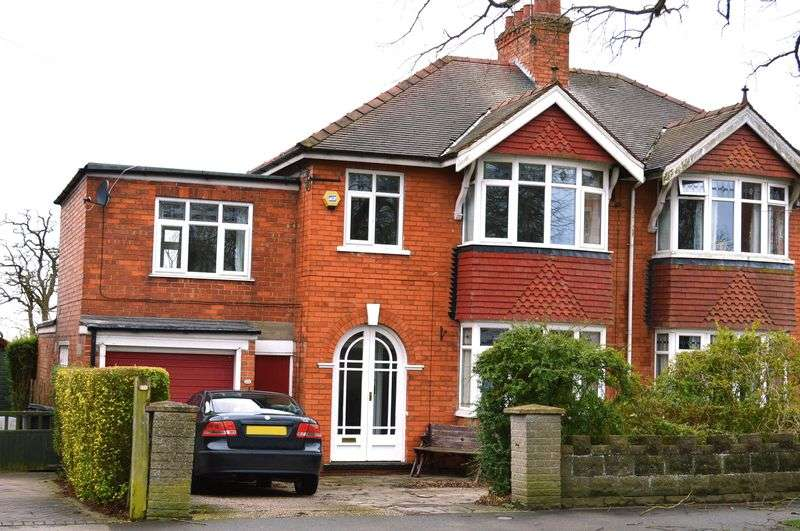 4 Bedrooms Semi Detached House for sale in Burton Road, Lincoln