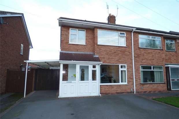 3 Bedrooms Semi Detached House for sale in Southfield Close, Weddington, Nuneaton, Warwickshire