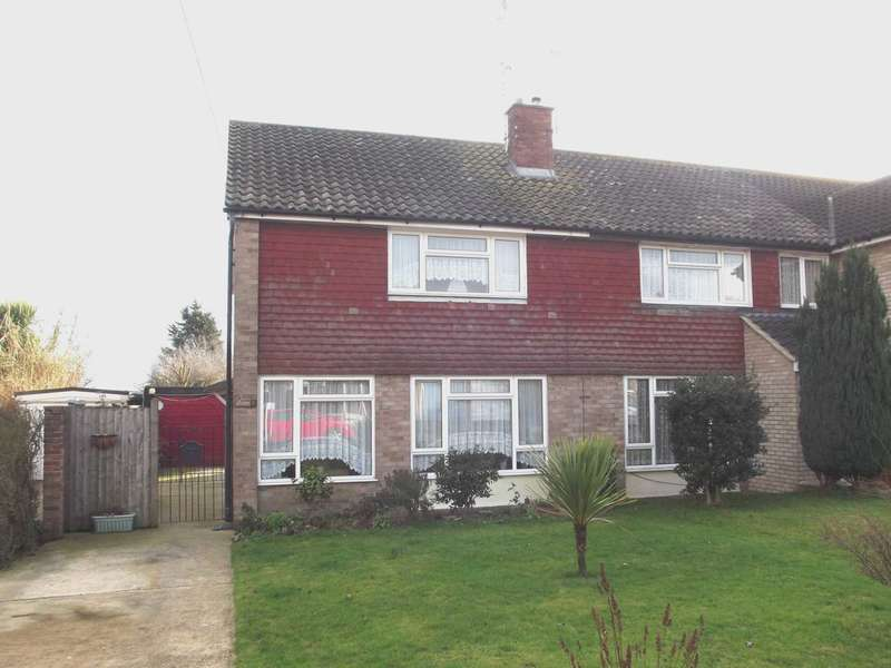 3 Bedrooms Semi Detached House for sale in Viking Road, Maldon