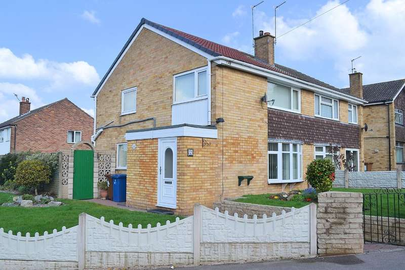 3 Bedrooms Semi Detached House for sale in Chadswell Heights, Lichfield