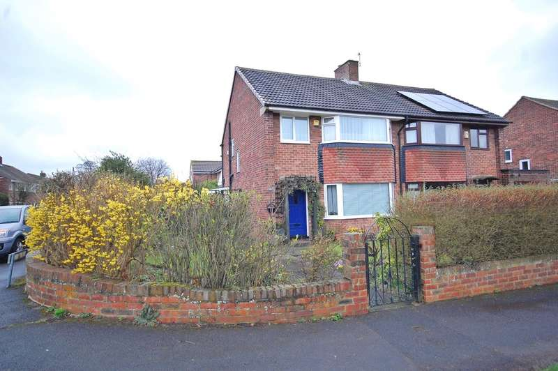 3 Bedrooms Semi Detached House for sale in Hastings Avenue, Durham, County Durham