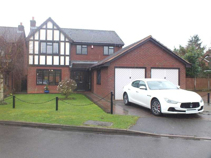 4 Bedrooms Detached House for sale in Haig Close, Four Oaks