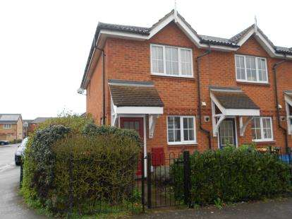 2 Bedrooms End Of Terrace House for sale in Miller Road, Bedford, Bedfordshire