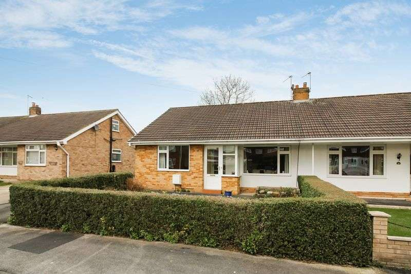 2 Bedrooms Semi Detached Bungalow for sale in Highfield Road, Ripon
