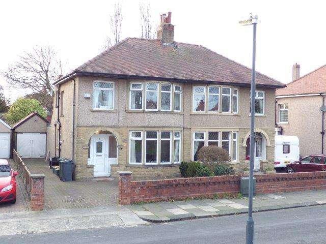 3 Bedrooms Semi Detached House for sale in Burlington Grove, Morecambe, Lancashire, LA4 5XW