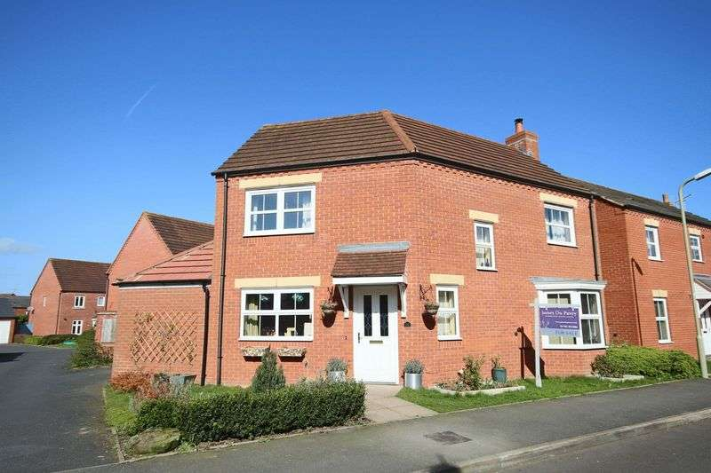 3 Bedrooms Detached House for sale in Chancel Drive, Market Drayton