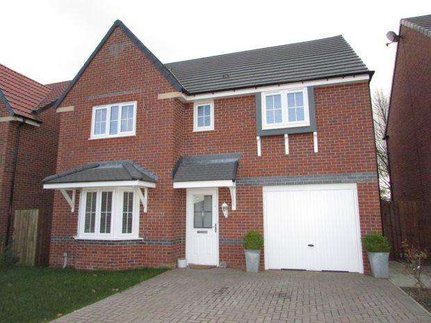 4 Bedrooms Detached House for sale in ROKEBY WAY, SPENNYMOOR, SPENNYMOOR DISTRICT