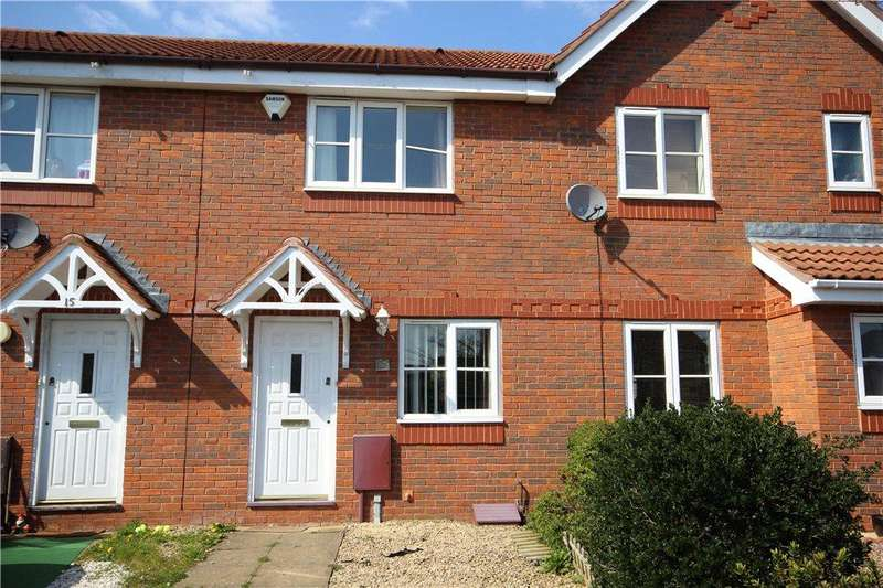 2 Bedrooms Terraced House for sale in Clarkson Gardens, Worcester, Worcestershire, WR4