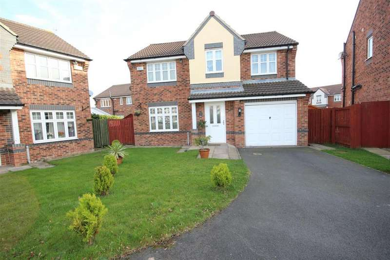 4 Bedrooms Detached House for sale in Clover Drive, Hartlepool