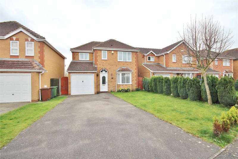 4 Bedrooms Detached House for sale in Orchid Road, Lincoln, LN5