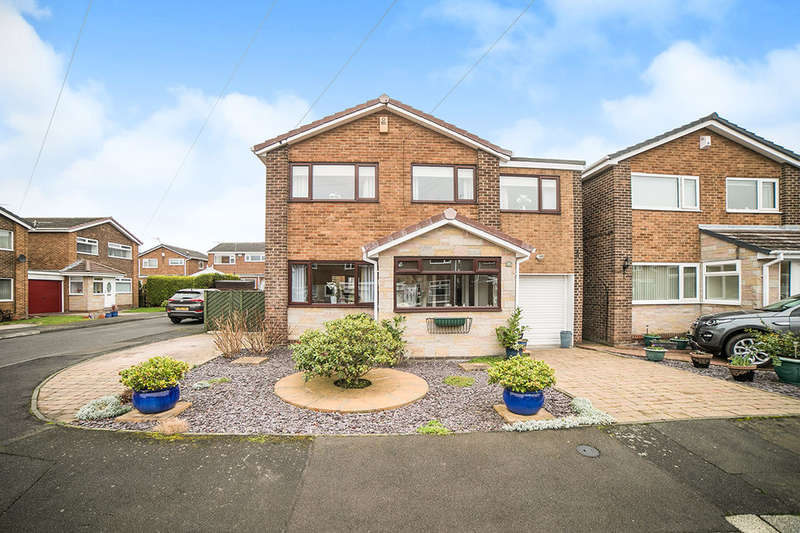 4 Bedrooms Detached House for sale in Meldon Court, Crawcrook, Ryton, NE40