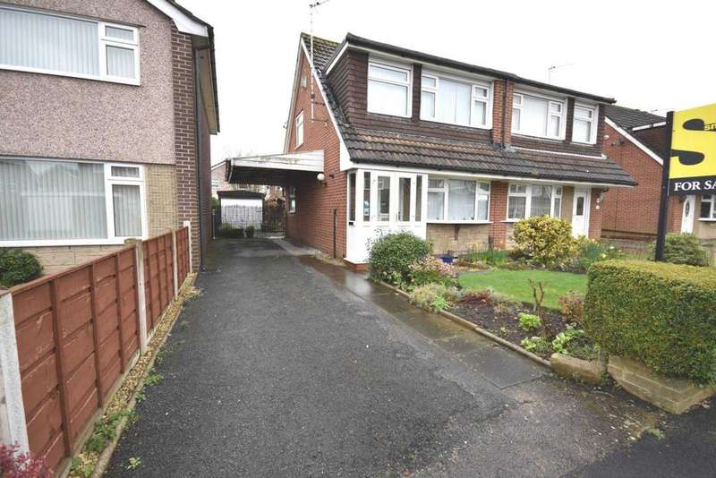 3 Bedrooms Semi Detached House for sale in Puffin Avenue, Poynton