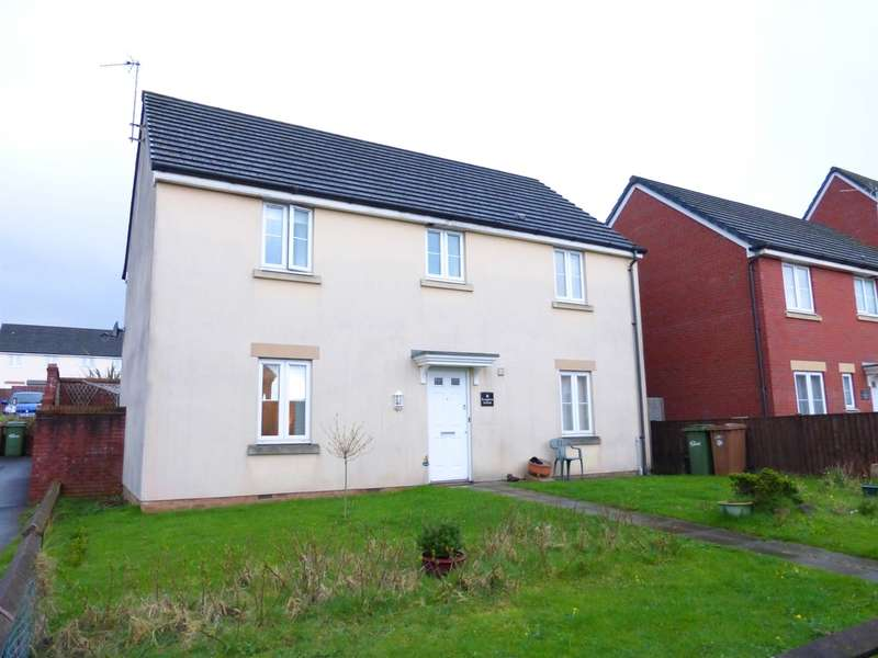 4 Bedrooms Detached House for sale in Knights Walk, Caerphilly