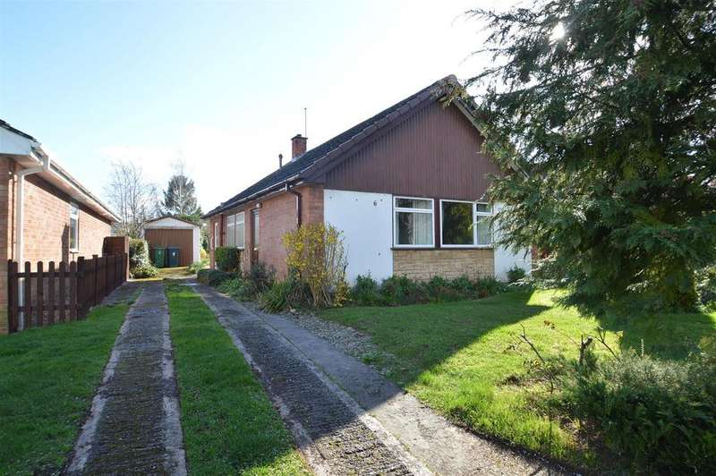 2 Bedrooms Detached Bungalow for sale in 6 Carmen Avenue, Belvidere, Shrewsbury SY2 5NR