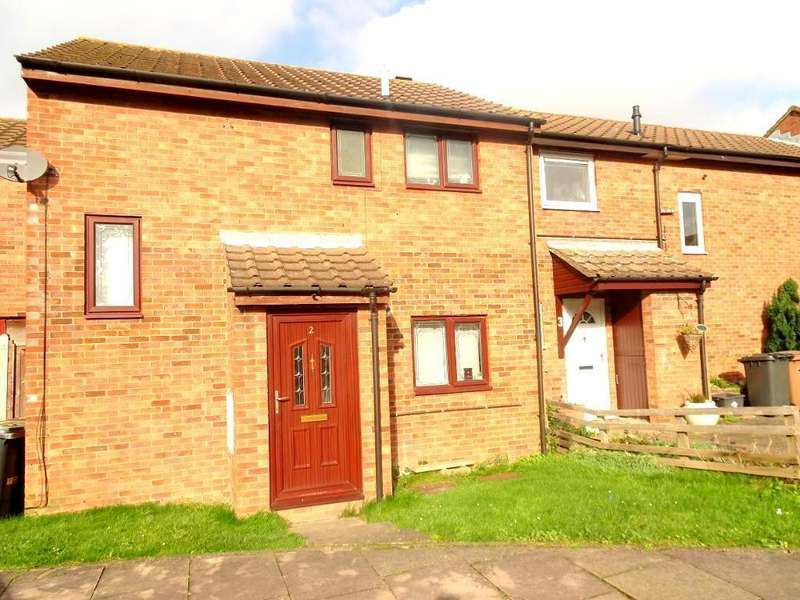2 Bedrooms Terraced House for sale in Plough Court, Luton, Bedfordshire, LU4 0TA