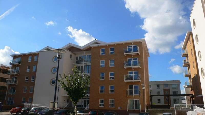 2 Bedrooms Apartment Flat for sale in Prague House,Century Wharf,Cardiff Bay