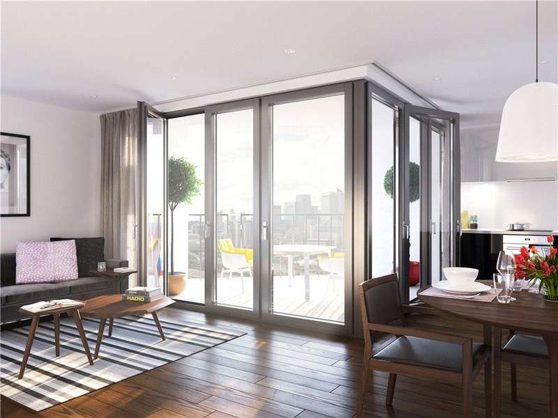 3 Bedrooms Flat for sale in Hallsville Quarter, Canning Town, London, E16
