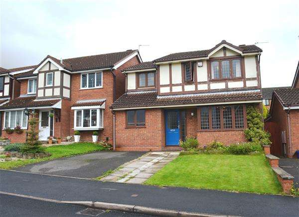 4 Bedrooms Detached House for sale in Barbridge Road, Waterhayes, Newcastle
