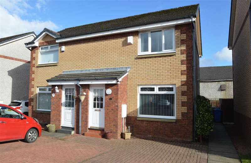 2 Bedrooms Semi Detached House for sale in McGowan Place, Hamilton
