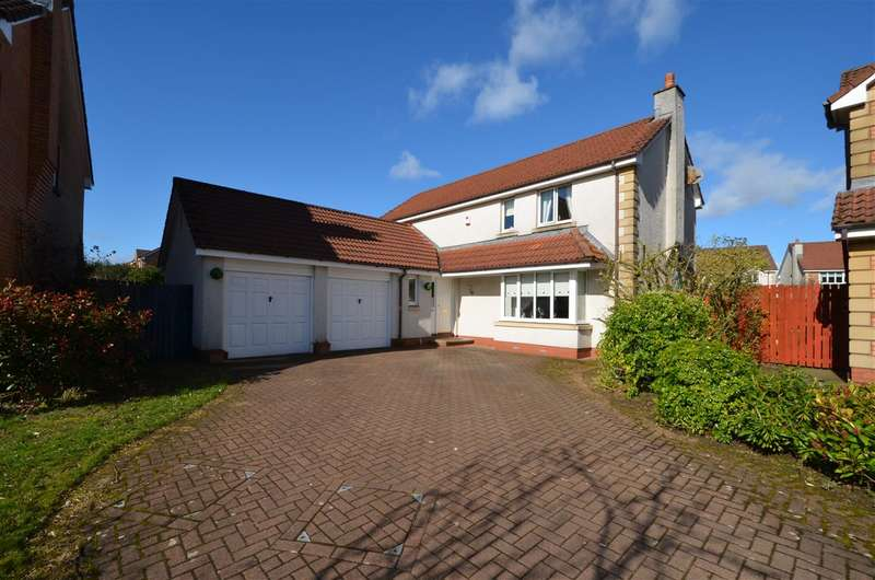 4 Bedrooms Detached House for sale in Alloway Wynd, Larbert
