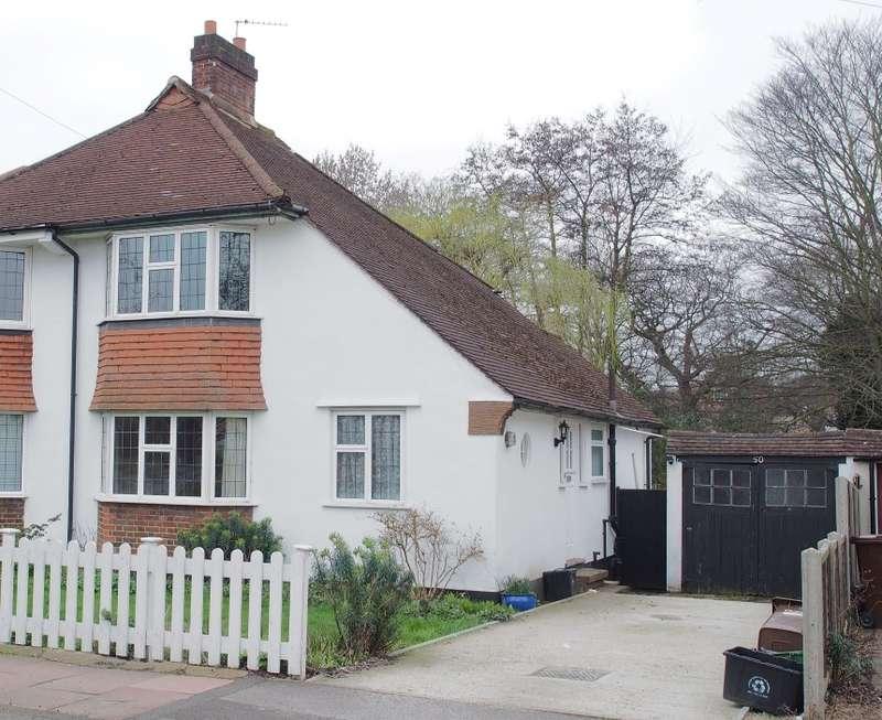 3 Bedrooms Semi Detached House for sale in Bolderwood Way, West Wickham, Kent, BR4 9PH