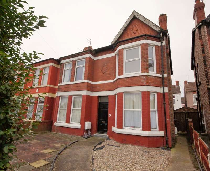 2 Bedrooms Flat for sale in Serpentine Road, Wallasey, Merseyside, CH44 0AU