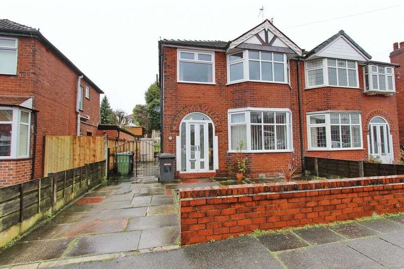 3 Bedrooms Semi Detached House for sale in Hillside Avenue, Whitefield, Manchester