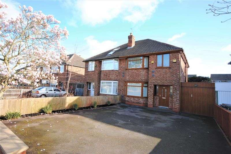 3 Bedrooms Semi Detached House for sale in Upton Road, Moreton