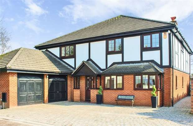 5 Bedrooms Detached House for sale in Corless Fold, Astley, Tyldesley, Manchester, Lancashire