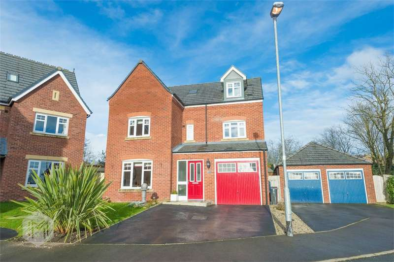 5 Bedrooms Detached House for sale in Silver Birch Close, Lostock, Bolton, Lancashire