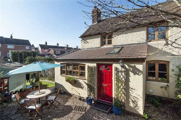 3 Bedrooms Cottage House for sale in Orchard Cottage, 35 Dodmore Lane, Ludlow, Shropshire