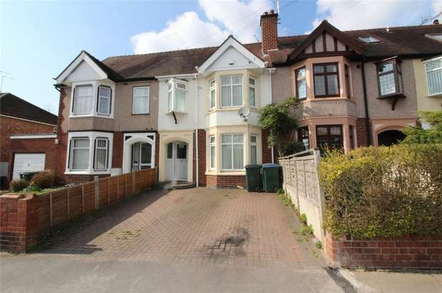 3 Bedrooms Terraced House for sale in Wainbody Avenue South, Finham, Coventry
