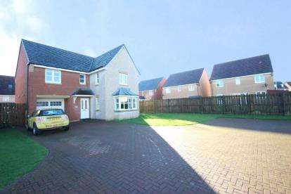 4 Bedrooms Detached House for sale in Glendevon Drive, Maddiston