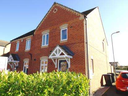 3 Bedrooms Semi Detached House for sale in Barberry, Coulby Newham, Middlesbrough