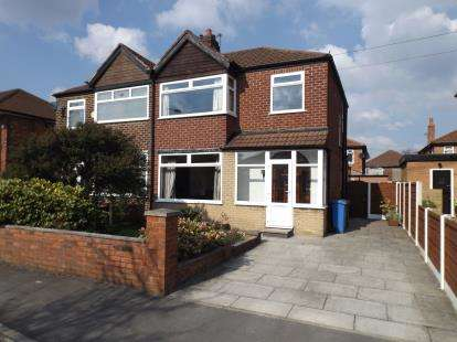 3 Bedrooms Semi Detached House for sale in Berkeley Avenue, Stretford, Manchester, Greater Manchester
