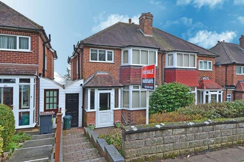 3 Bedrooms Semi Detached House for sale in Leach Green Lane, Rednal, Birmingham