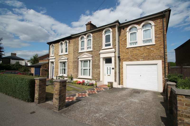 4 Bedrooms Semi Detached House for sale in Stanwell Road, Ashford, TW15