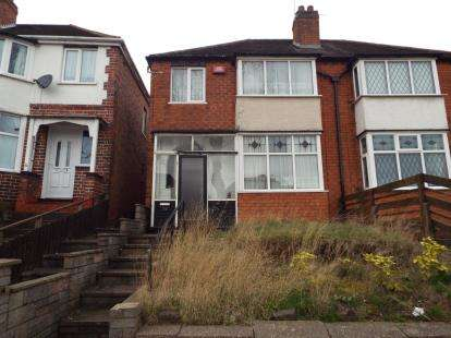 3 Bedrooms Semi Detached House for sale in Thetford Road, Birmingham, West Midlands