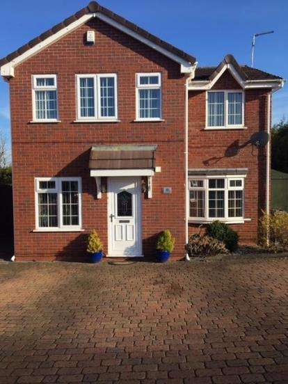 4 Bedrooms Detached House for sale in Darnbrook, Wilnecote, Tamworth, Staffordshire