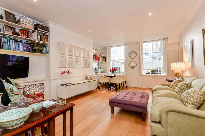 2 Bedrooms Maisonette Flat for sale in Nevern Square, Earls Court, SW5